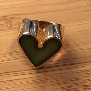 "Jewelry - ""Pinky"" heart ring size 5"
